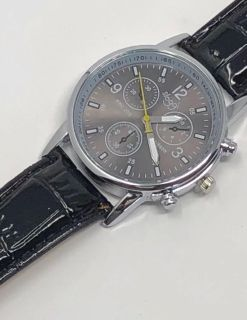 Luxury Leather Army Watch
