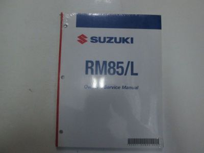 Find 2007 Suzuki RM85/L RM 85/L Owners Service Repair Manual BRAND NEW FACTORY OEM*** motorcycle in Sterling Heights, Michigan, United States, for US $36.95