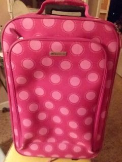 Girl's Rolling Suit Case