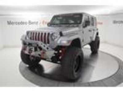 Used 2019 Jeep Wrangler Unlimited Billet Silver Metallic Clearcoat, 147 miles