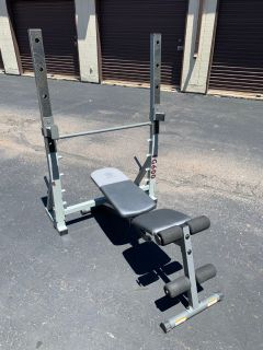 Olympic bench press/squat rack