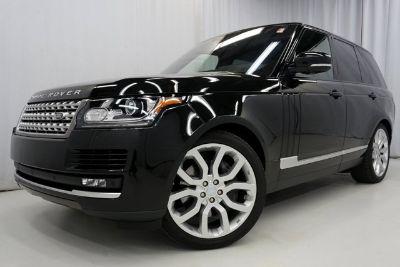 2016 Land Rover Range Rover Supercharged (Santorini Black)