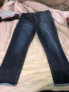 High rise sculpting skinny pants new condition