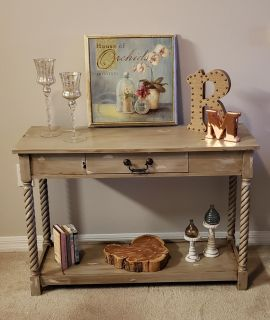 Foyer, sofa, console, entry table