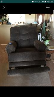 Large electric recliner from Ashley Furniture