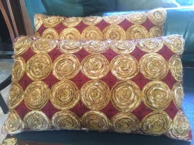 Pier 1 - set of two decorative pillows