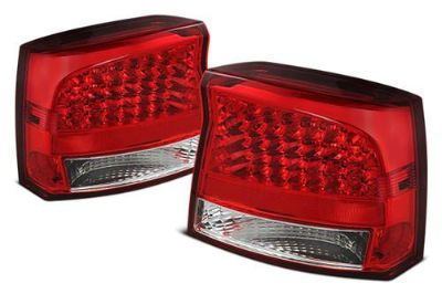 Purchase Spyder ALTJHDCH09RC Charger Red Euro Tail Lights Rear Stop Lamps w LEDs motorcycle in Rowland Heights, California, US, for US $192.00