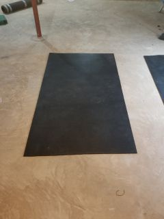 MANY, LARGE HEAVY DUTY FLOOR MATS (WEIGHT ROOM/GYM)
