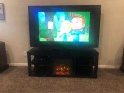 Electric Fireplace Television Stand
