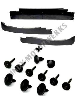 Sell CORVETTE FRONT LOWER AIR SPOILER DAM KIT C6 05-13 COMPLETE + MOUNTING HARDWARE motorcycle in Avon, Indiana, US, for US $137.49