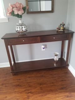 Brown Entry table .