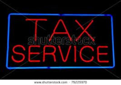 TAX SERVICES, ACCOUNTING, BOOKKEEPING, FINANCE SERVICES