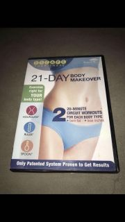 21 Day Body makeover fitness dvd ((Escape Your Shape))