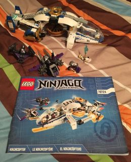 LEGO Ninjago 70724 NinjaCopter in EUC. All pieces & instructions accounted for.