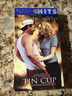 VHS TIN Cup with Kevin Costner