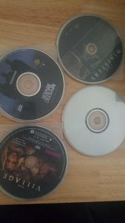 Lot of 4 dvds - murder at 1600, the ministries, mystic river, & the village