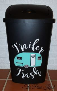 Custom Kitchen Trash Cans