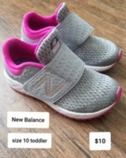 NB running shoes ~ size 10 toddler