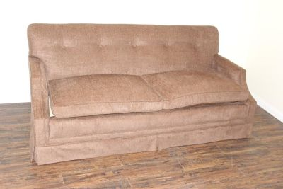 Tufted Brown sofa, VERY comfortable