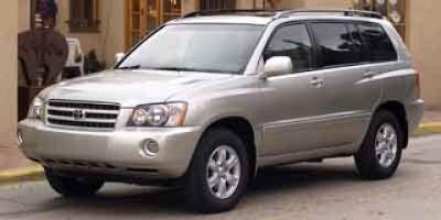 2003 Toyota Highlander Base (VINTAGE GOLD)