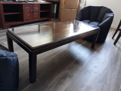 Real Wood Coffee Table