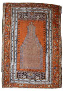 Handmade antique Turkish Anatolian rug, 1C425