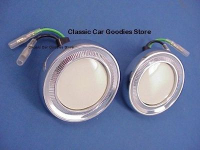 Buy 1962-1966 Chevy Impala Sport Coupe Dome Light (2) 1963 1964 1965 motorcycle in Aurora, Colorado, United States, for US $74.99