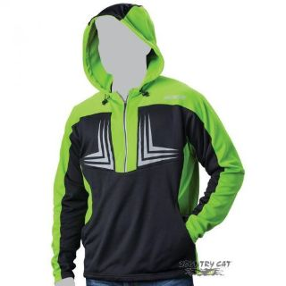 Purchase Arctic Cat Men s 1/2 Zip Performance Hooded Sweatshirt Black & Green - 5269-14_D motorcycle in Sauk Centre, Minnesota, United States, for US $41.99
