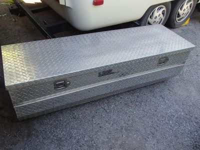 Delta Used Aluminum Storage Box for Truck