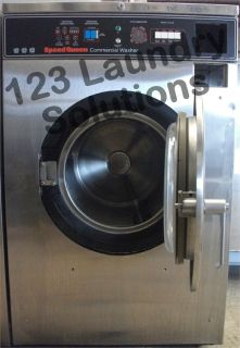 Speed Queen Front Load Washer 208-240v Stainless Steel SC35MD2YU40001 Used