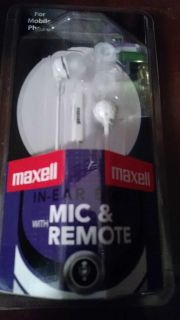 Maxell Mic and remote