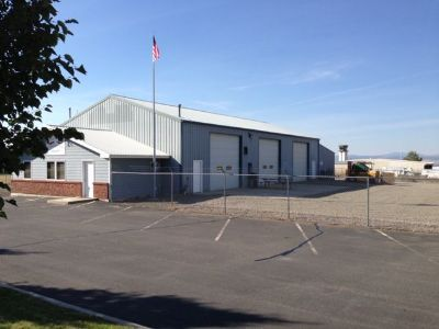 Office/Warehouse/Shop Building for Sale or Lease, on Approx. 1 ac. fenced lot.