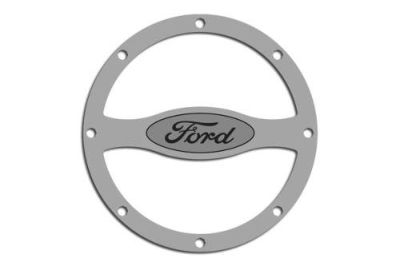 Purchase ACC 272021 - 11-13 Ford Mustang Fuel Door Gas Cap Cover Polished Car Chrome Trim motorcycle in Hudson, Florida, US, for US $45.77