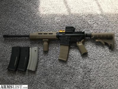 For Sale/Trade: Bushmaster AR15 Magpul FDE