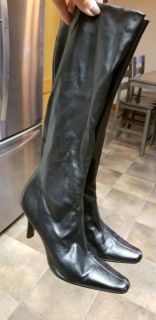 Black Boots, some wear