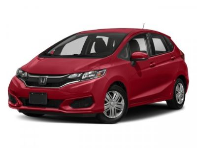 2018 Honda Fit LX (Aegean Blue Metallic)