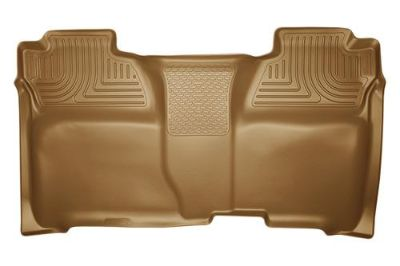 Sell Husky Liners 19233 2014 Chevy Silverado Tan Custom Floor Mats 2nd Row motorcycle in Winfield, Kansas, US, for US $108.95