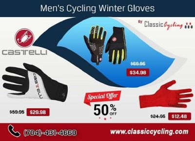 Big Offer on Castelli Men Winter Gloves – Classic Cycling