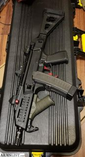 For Sale: CZ Scorpion EVO 3 with brace and RMR Type 2