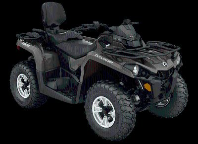 2018 Can-Am Outlander MAX DPS 570 Utility ATVs Billings, MT