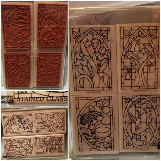 New Stampin' Up Stained Glass Stamps