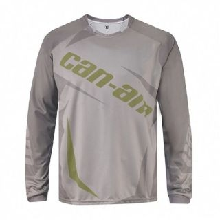 Buy CAN-AM OEM MENS TEAM JERSEY WARM GREY L, XL motorcycle in Lanesboro, Massachusetts, United States, for US $39.95