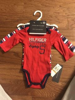 Brand new with tags 3-pack bodysuits, 0-3 months