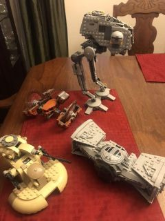 4 Star Wars LEGO sets with Manuals