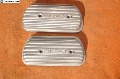 Bugpack Valve Covers + Mounting Kit