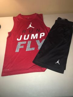 Air Jordan Summer Shorts & Tank Top