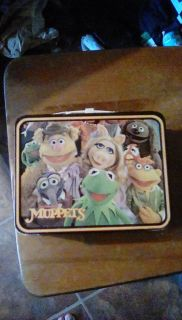 1970s Muppet metal lunch box