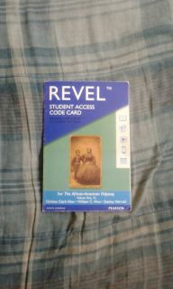 Revel for The African American Odyssey Volume 1 - Student Access Code Card (Pearson, 2017)