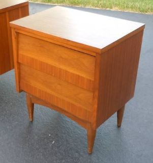 Mid-Century End Table Night Stand