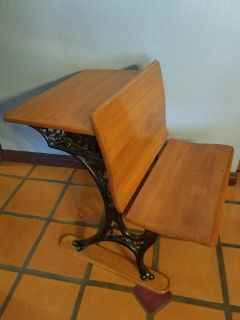 Antique school desk in superb condition